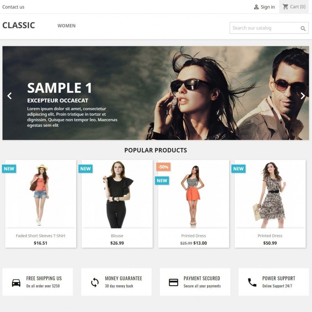 module - Blocks, Reiter & Banner - Banners and HTML Content - 2