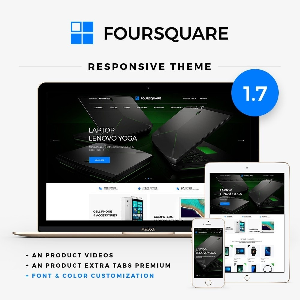 theme - Elektronica & High Tech - Foursquare - High-tech Shop - 1