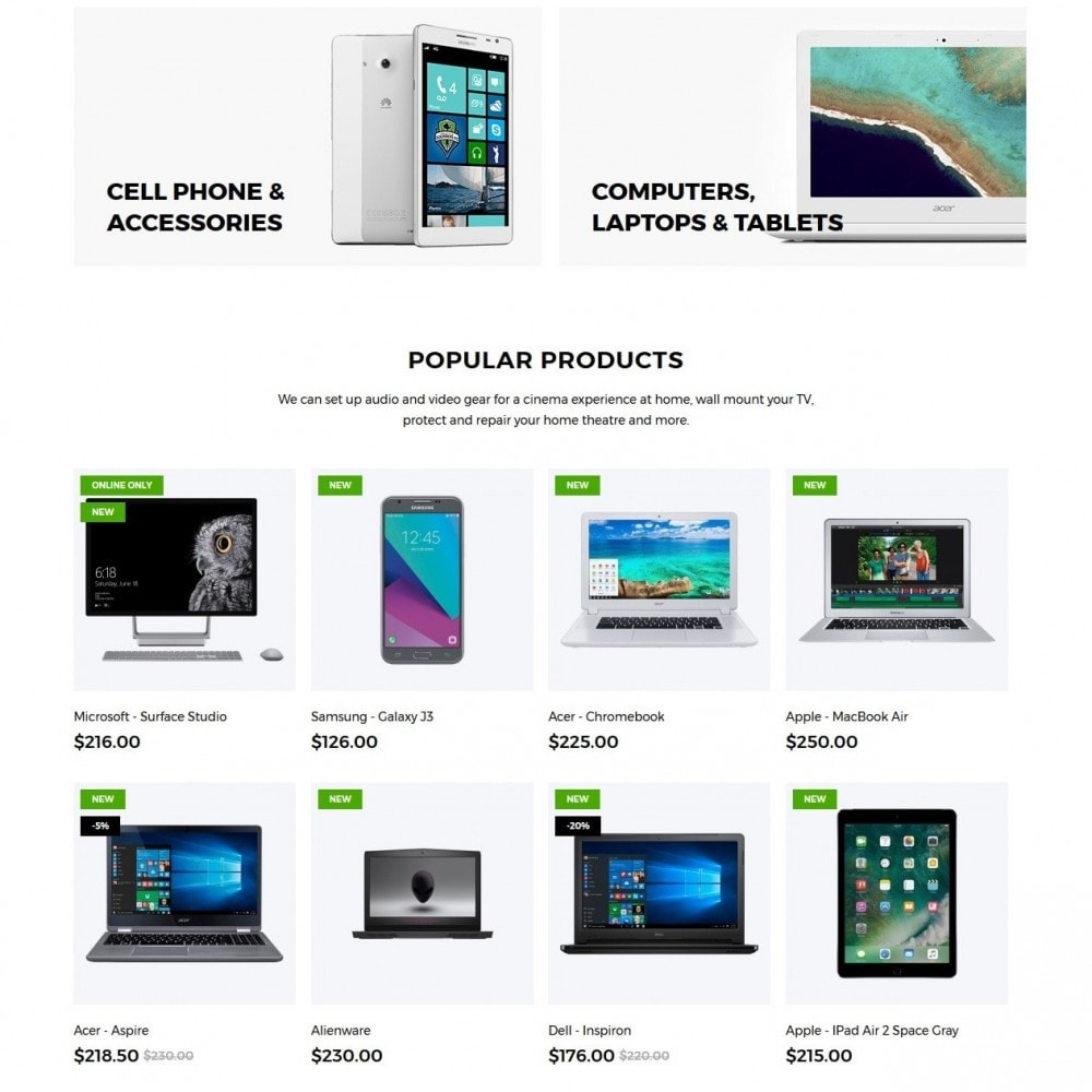 theme - Elektronica & High Tech - Foursquare - High-tech Shop - 3