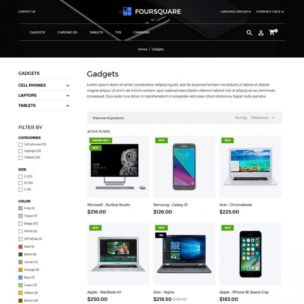 theme - Elektronica & High Tech - Foursquare - High-tech Shop - 5