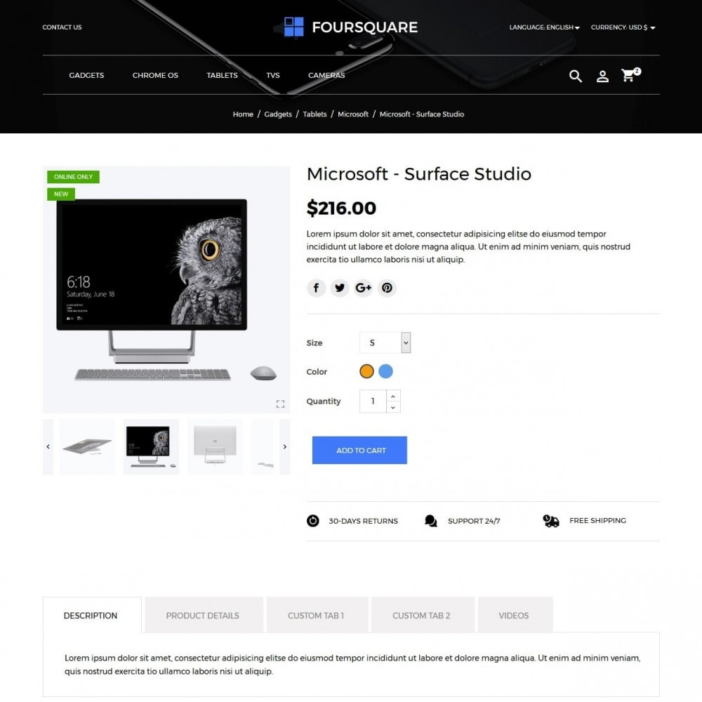 theme - Elektronica & High Tech - Foursquare - High-tech Shop - 6