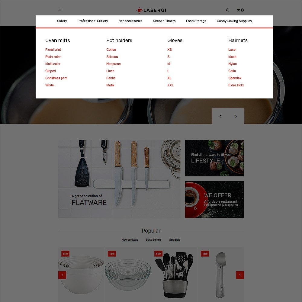 theme - Cibo & Ristorazione - Glasergi – Negozio di utensili da cucina - 4