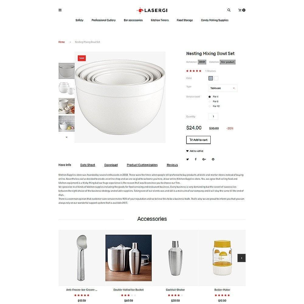 theme - Cibo & Ristorazione - Glasergi – Negozio di utensili da cucina - 5