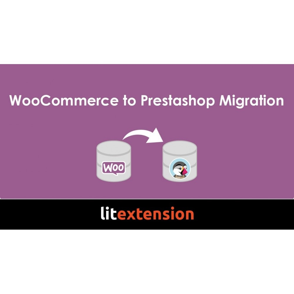 module - Data migration & Backup - LitExtension: WooCommerce to Prestashop Migration - 1