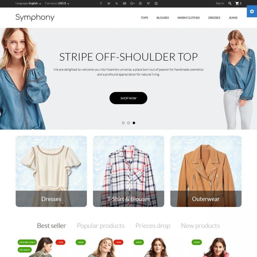 theme - Moda & Calzature - Symphony - High-tech Shop - 2