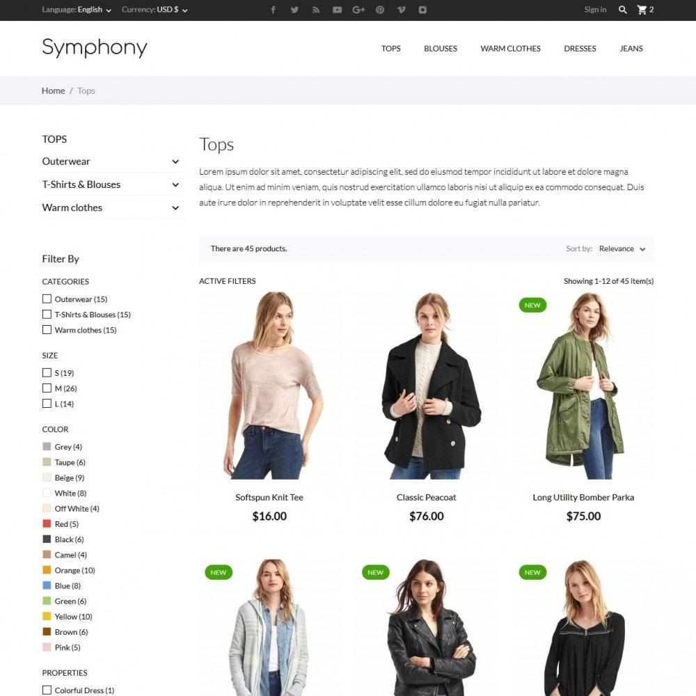 theme - Moda & Calzature - Symphony - High-tech Shop - 5