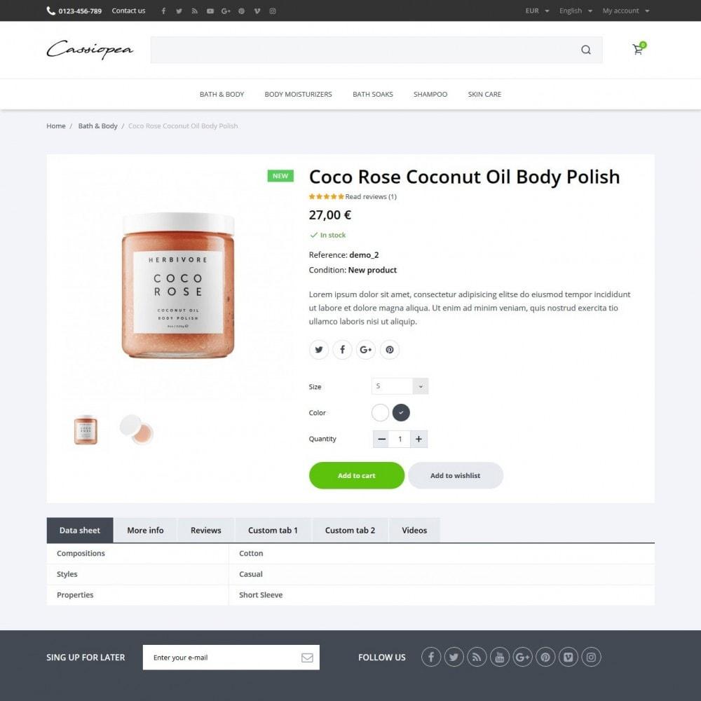 theme - Gezondheid & Schoonheid - Cassiopea Cosmetics - 6