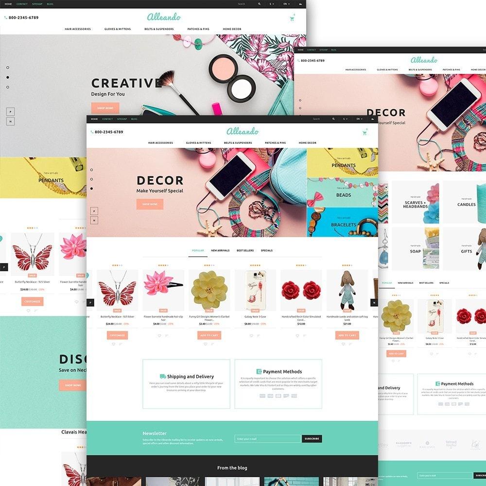 theme - Geschenke, Blumen & Feiern - Alleando - Decor Accessories PrestaShop Theme - 2