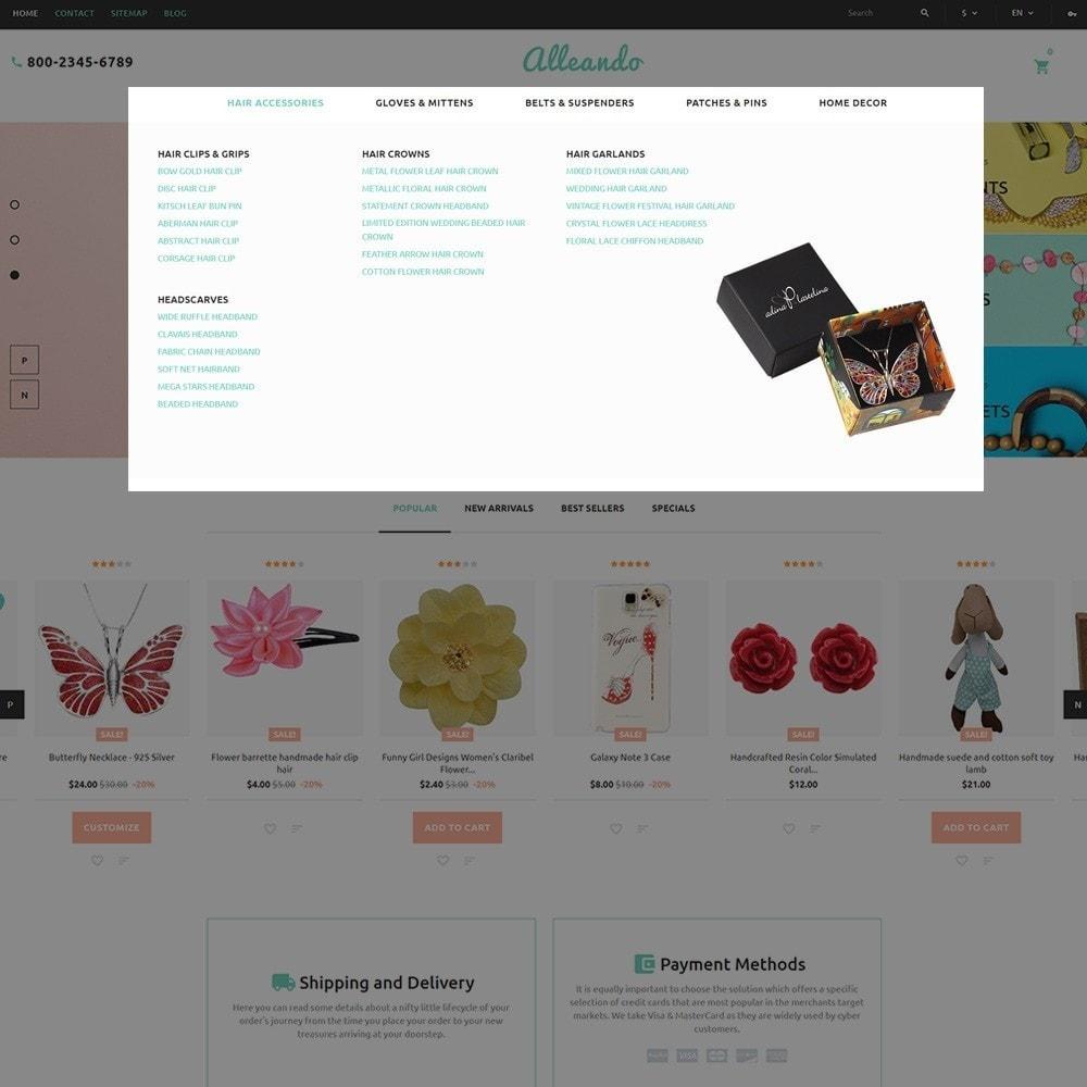 theme - Geschenke, Blumen & Feiern - Alleando - Decor Accessories PrestaShop Theme - 4