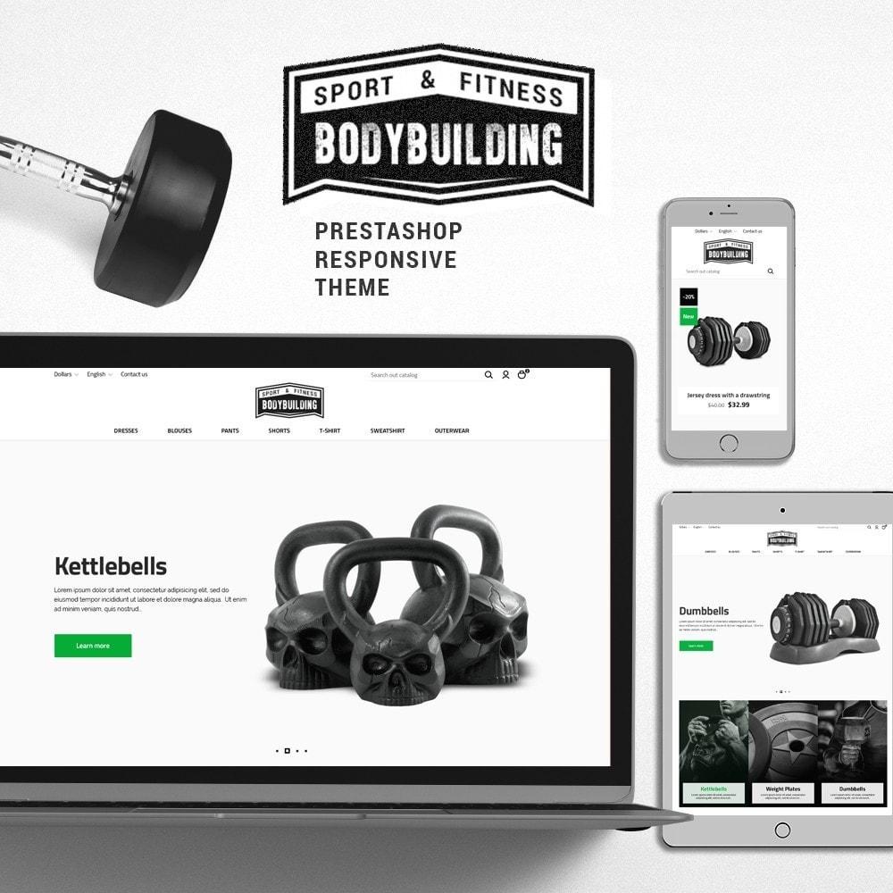 theme - Desporto, Actividades & Viagens - Bodybuilding - 1