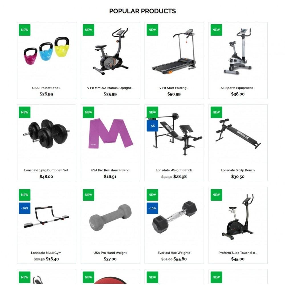 theme - Desporto, Actividades & Viagens - Bodybuilding - 3
