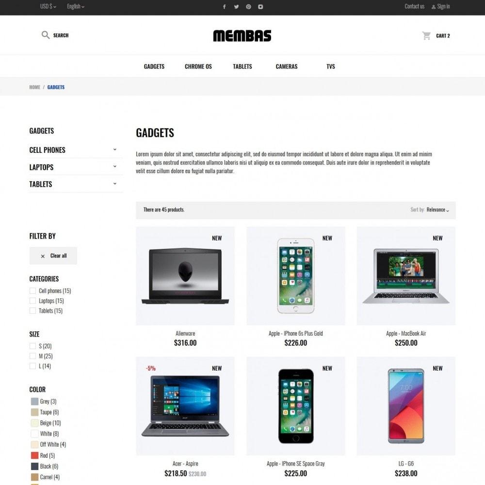 theme - Elettronica & High Tech - Membas - High-tech Shop - 5