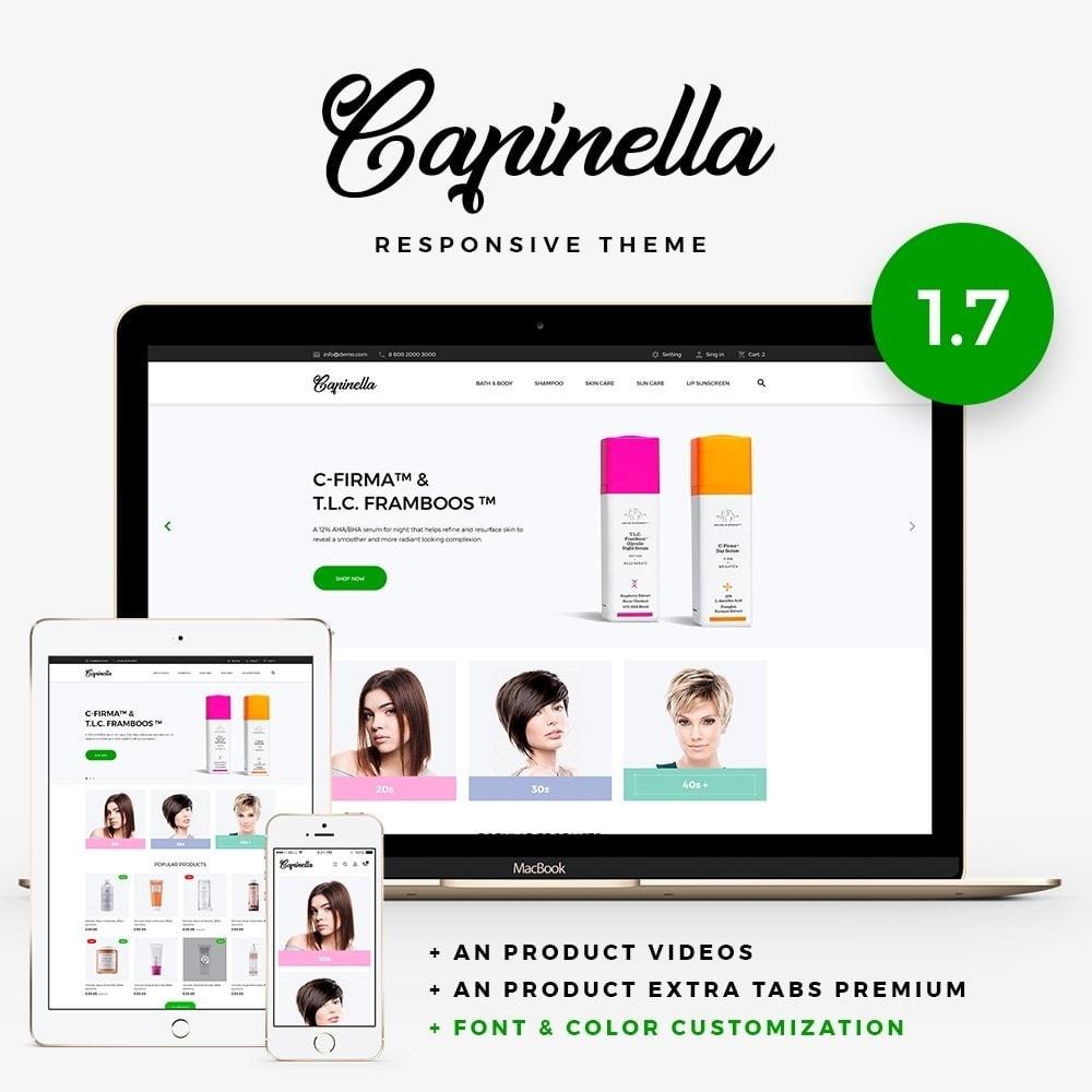 theme - Salute & Bellezza - Capinella Cosmetics - 1