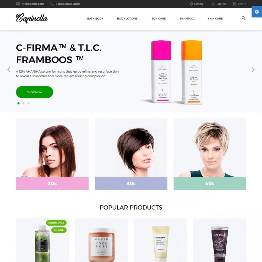 theme - Salute & Bellezza - Capinella Cosmetics - 2