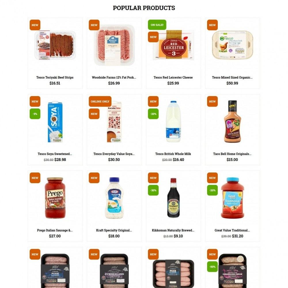 theme - Żywność & Restauracje - Fooddoo - 3