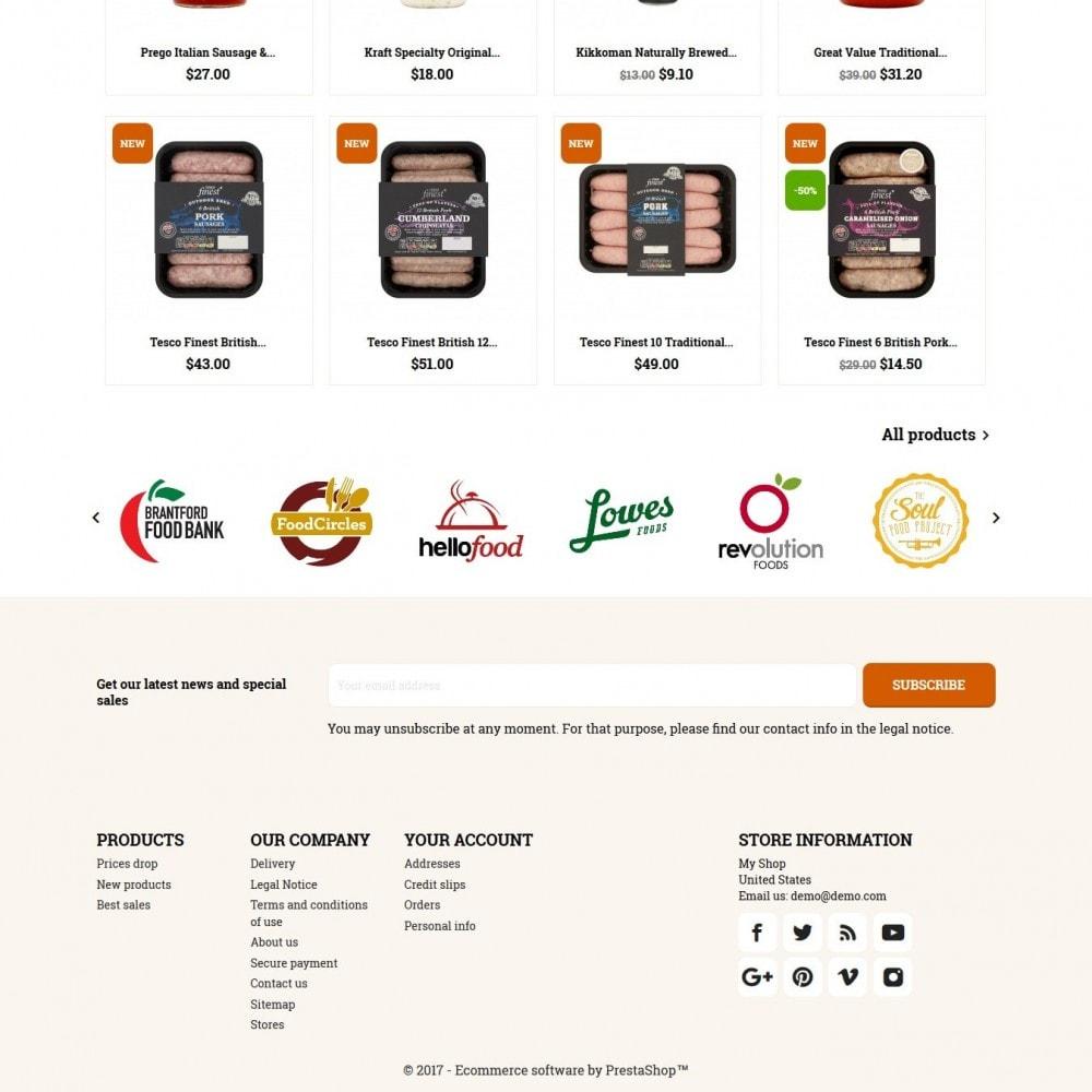 theme - Żywność & Restauracje - Fooddoo - 4