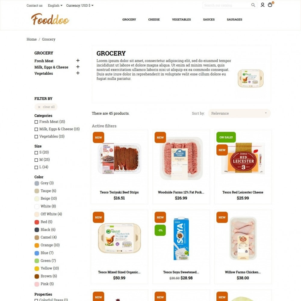 theme - Lebensmittel & Restaurants - Fooddoo - 5