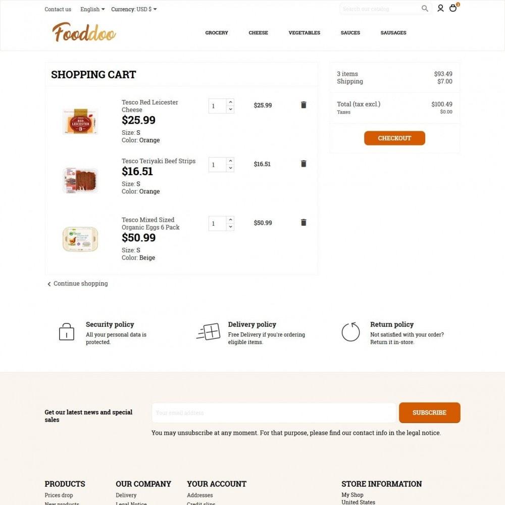 theme - Żywność & Restauracje - Fooddoo - 8