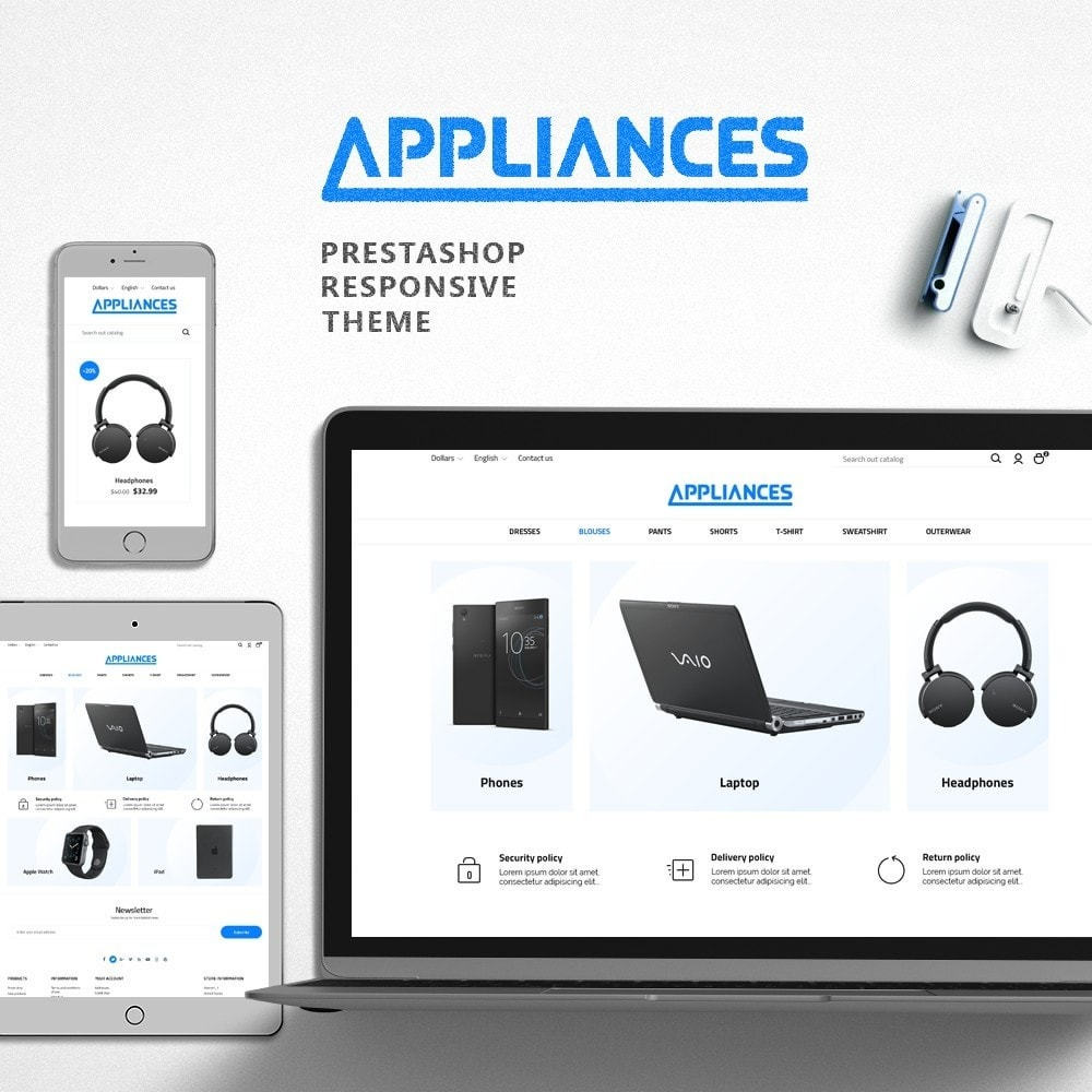 theme - Elettronica & High Tech - Appliances - High-tech Shop - 1