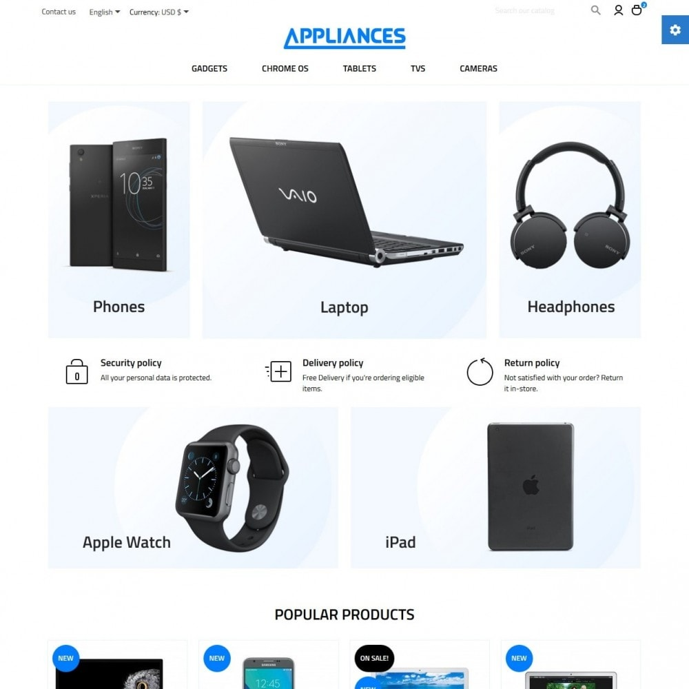 theme - Elektronika & High Tech - Appliances - High-tech Shop - 2