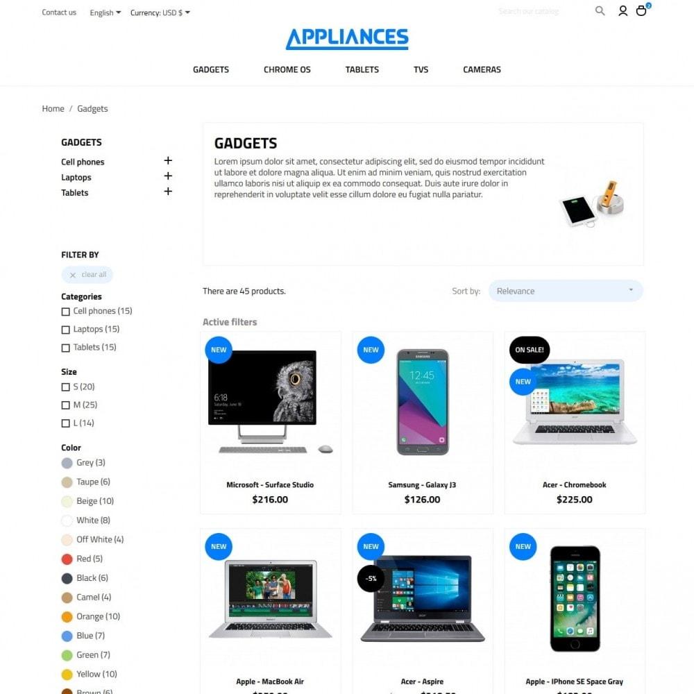 theme - Elettronica & High Tech - Appliances - High-tech Shop - 5