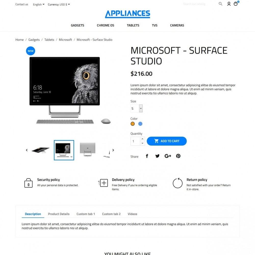 theme - Elettronica & High Tech - Appliances - High-tech Shop - 6
