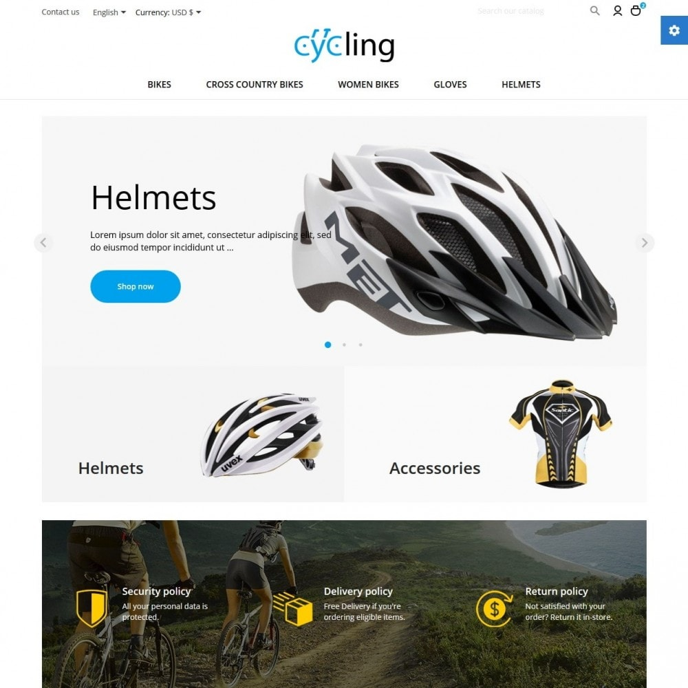 theme - Sport, Rozrywka & Podróże - Cycling - 2