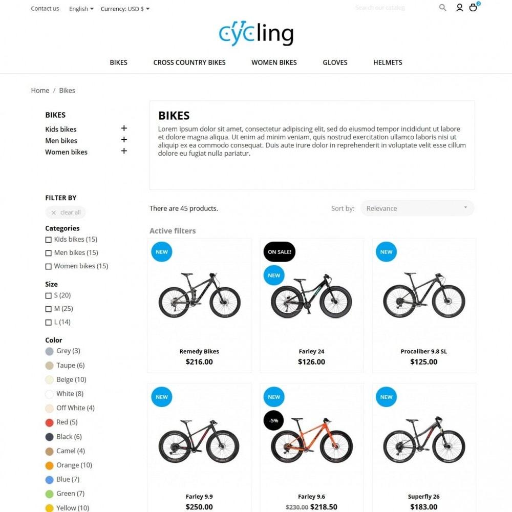 theme - Sport, Rozrywka & Podróże - Cycling - 5