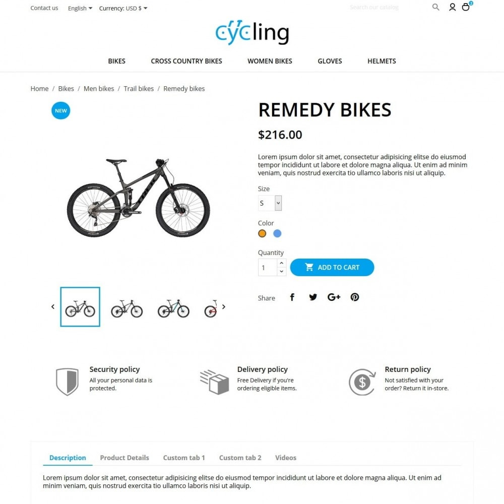 theme - Sport, Rozrywka & Podróże - Cycling - 6