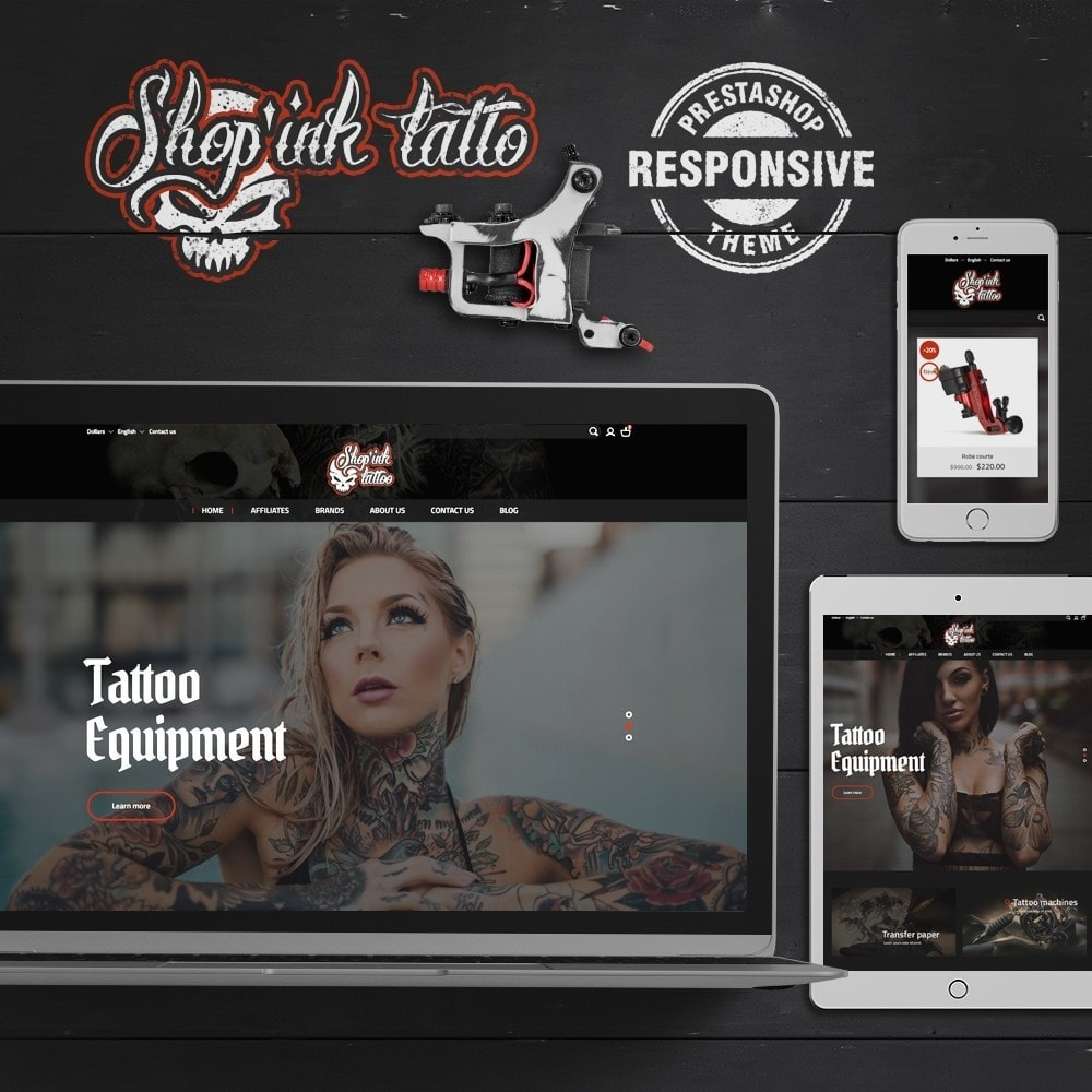 theme - Art & Culture - Shop'ink Tattoo - 1