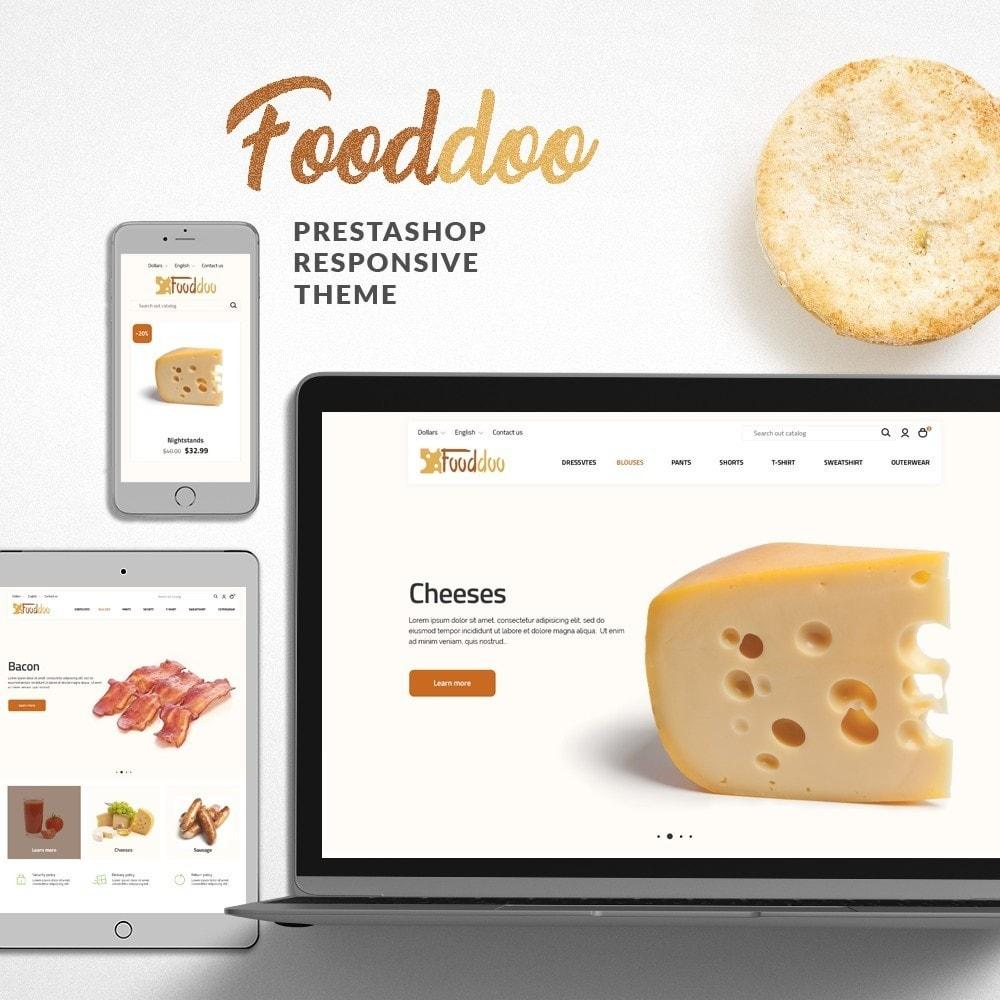 theme - Lebensmittel & Restaurants - Fooddoo - 1