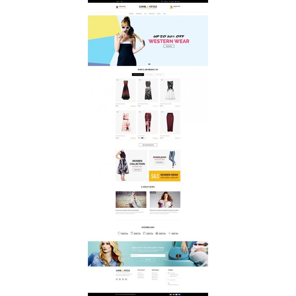 theme - Мода и обувь - Look & Style - Fashion Store - 2