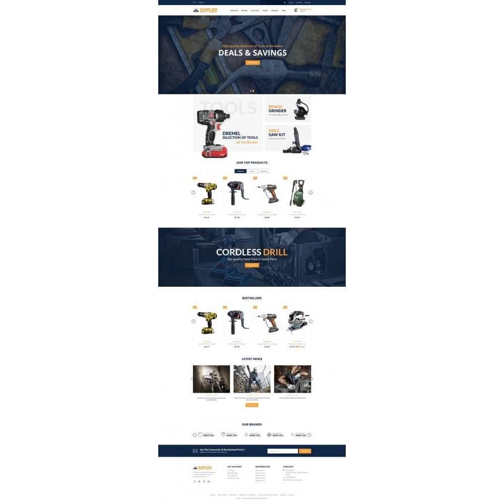 theme - Coches y Motos - Supplier Tools Store - 2