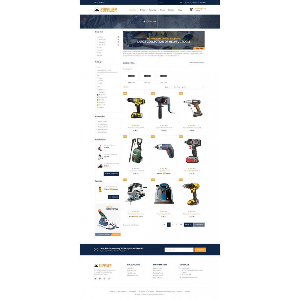 theme - Coches y Motos - Supplier Tools Store - 3