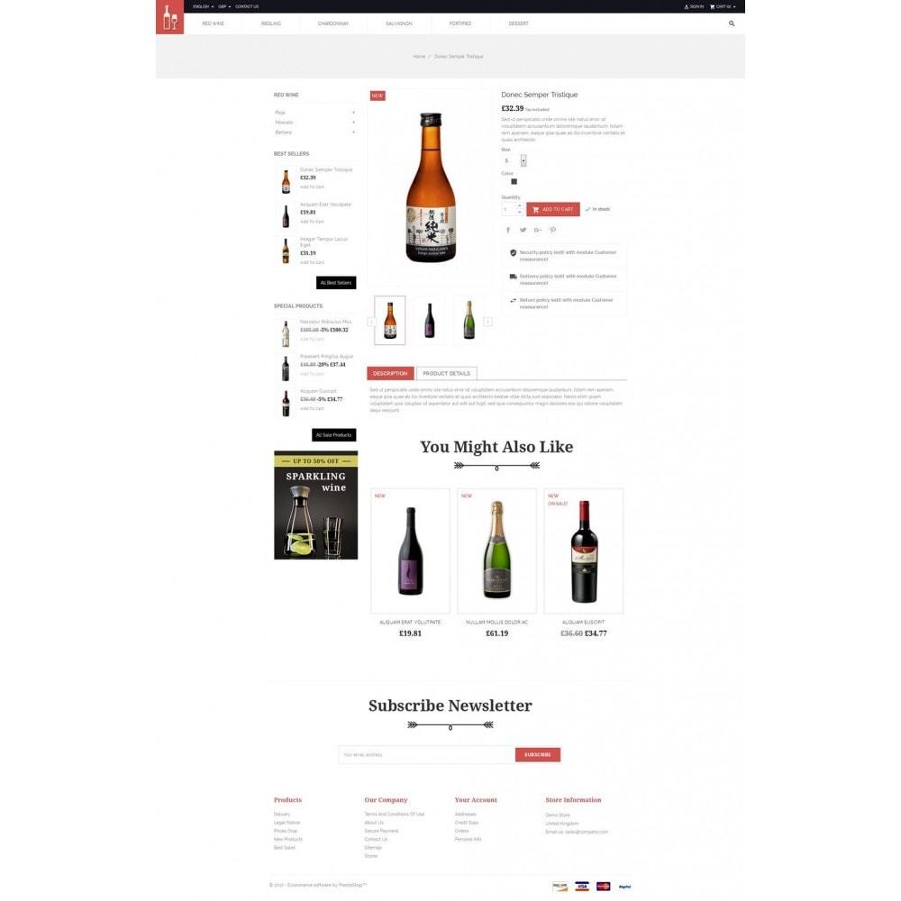 theme - Drink & Wine - Drink & Restaurant Store - 4