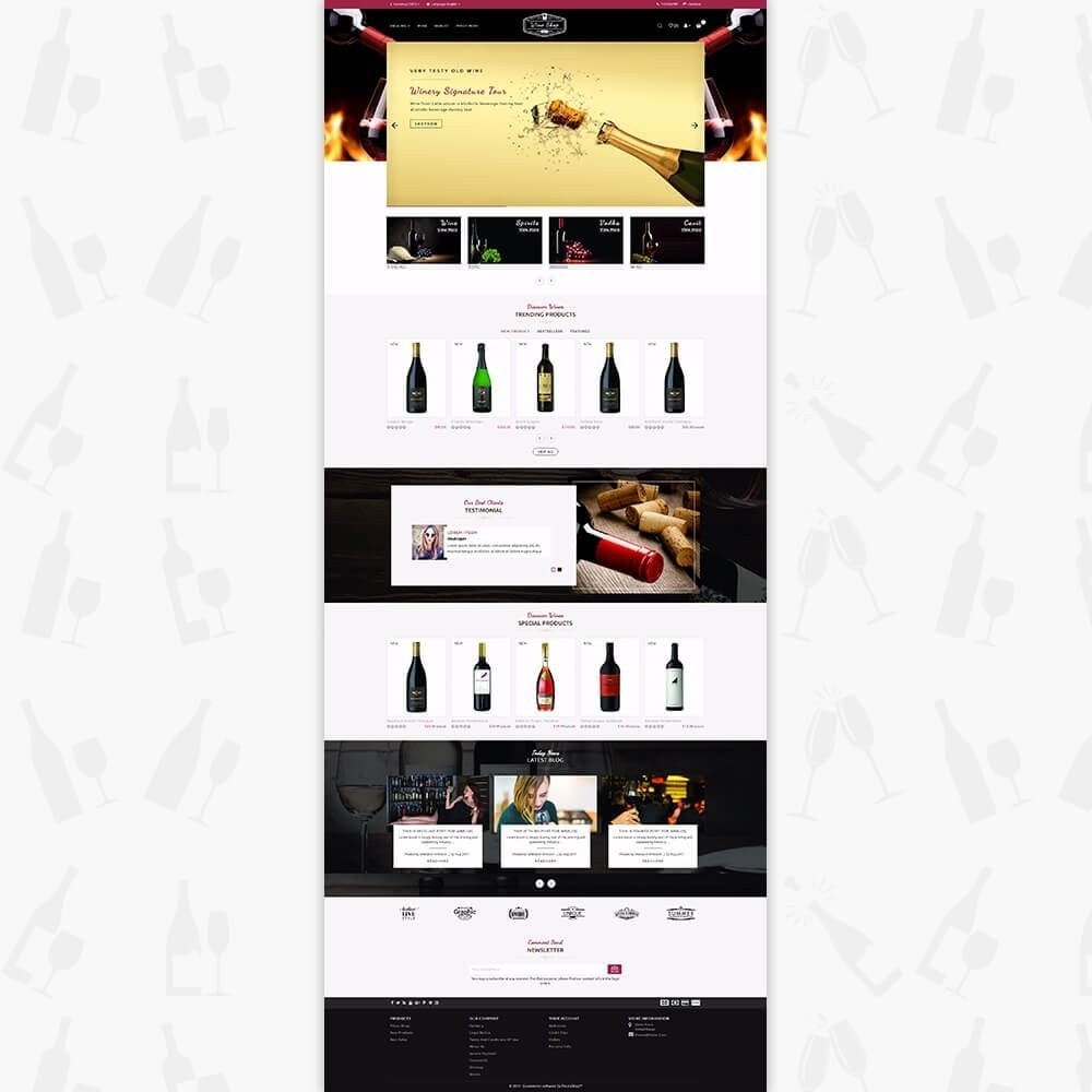 theme - Bebidas y Tabaco - Wine Club - 2