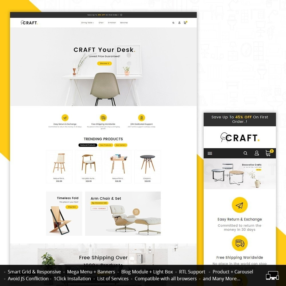 theme - Dom & Ogród - Craft Furniture Store - 1