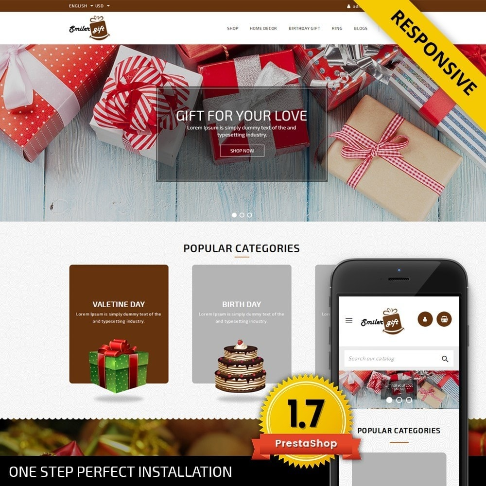 theme - Gifts, Flowers & Celebrations - Smilergift - Gift Store - 1