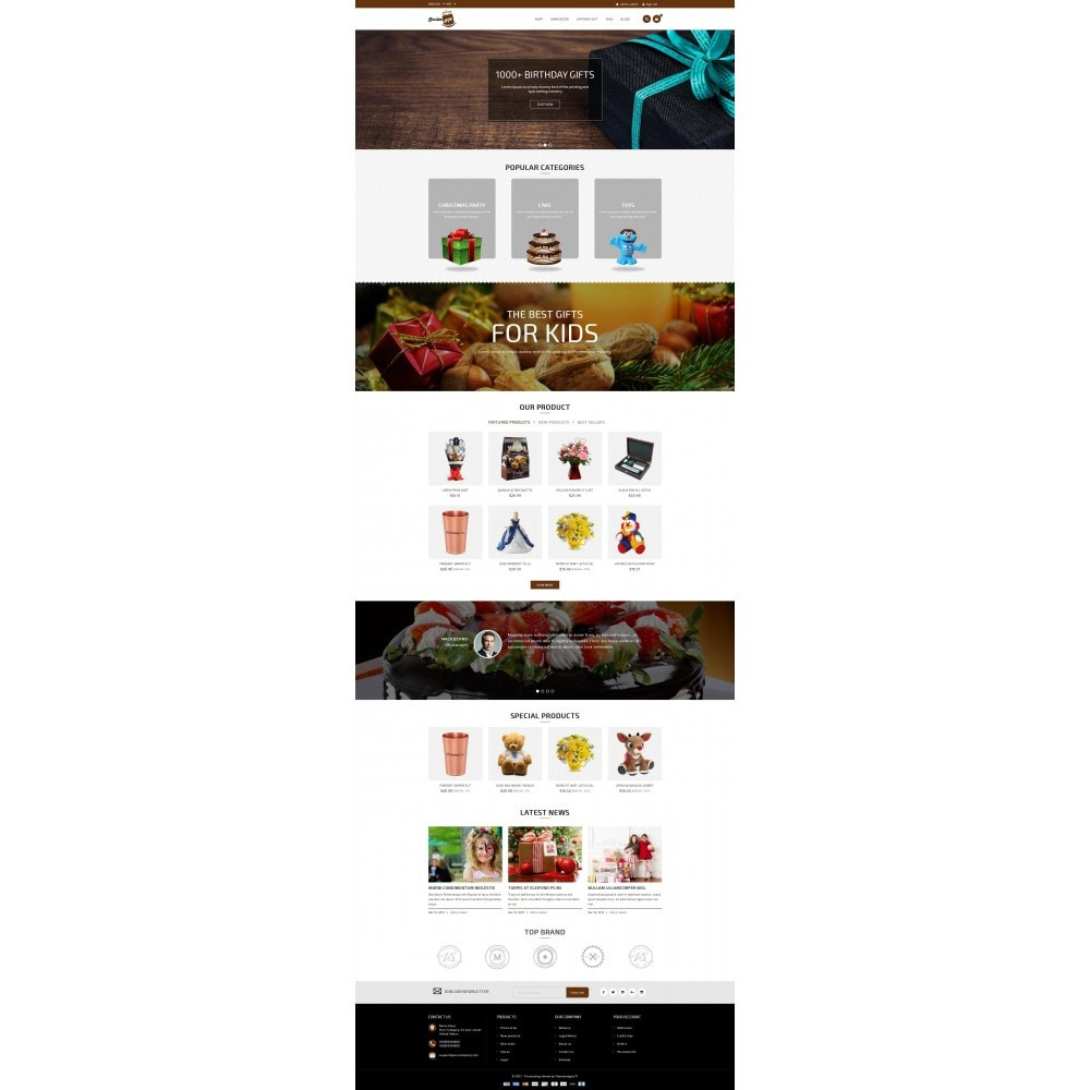 theme - Gifts, Flowers & Celebrations - Smilergift - Gift Store - 2