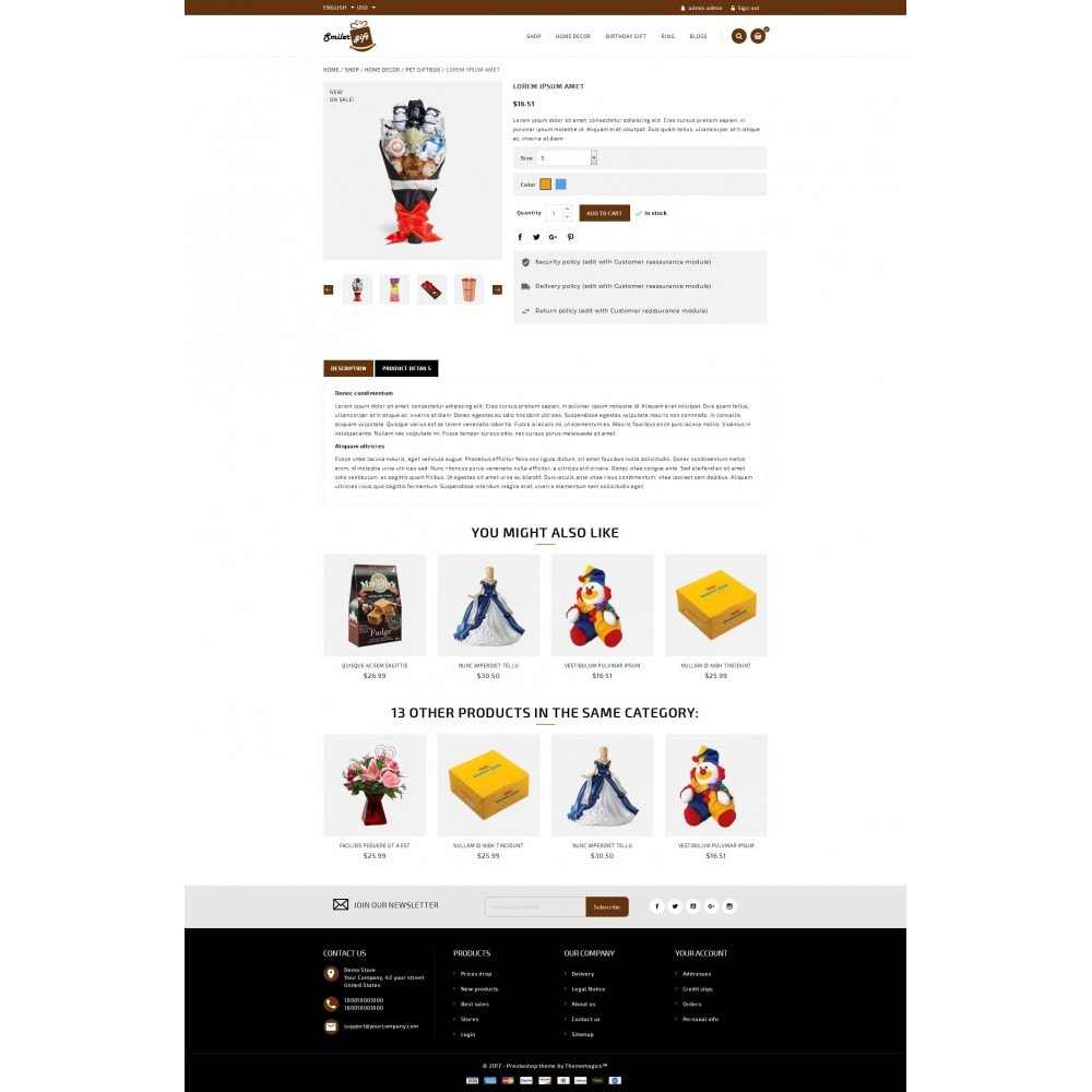 theme - Presentes, Flores & Comemorações - Smilergift - Gift Store - 5