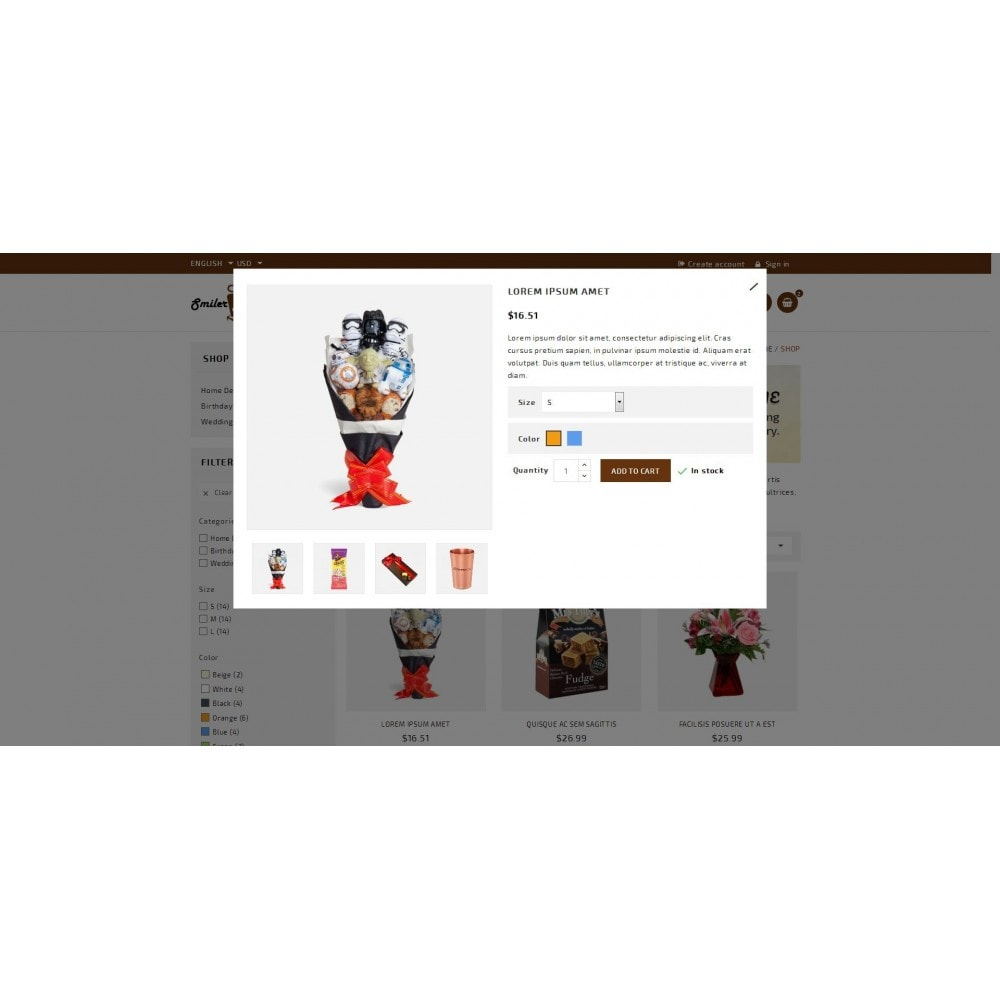 theme - Regali, Fiori & Feste - Smilergift - Gift Store - 7
