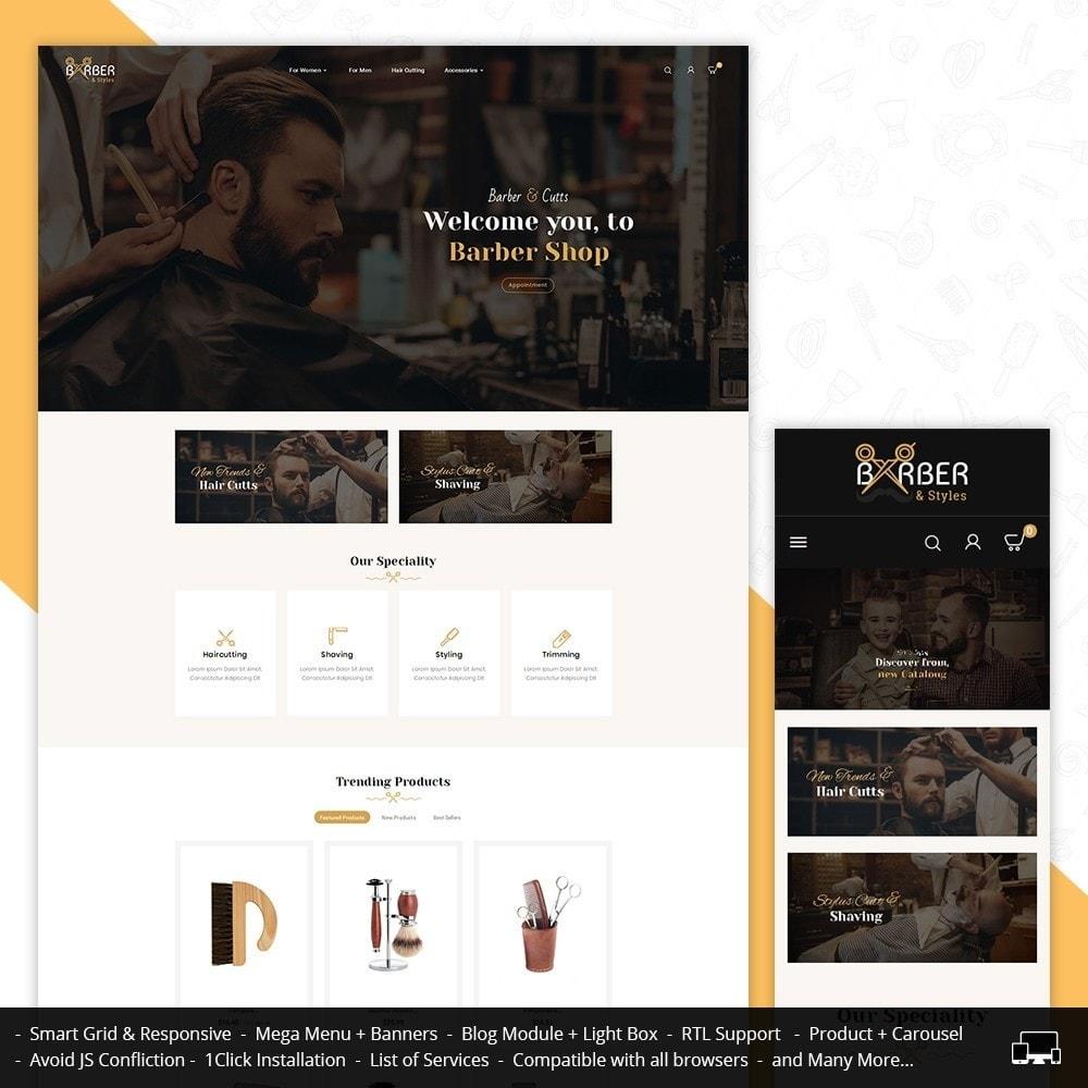 theme - Gezondheid & Schoonheid - Barber Shop - 1