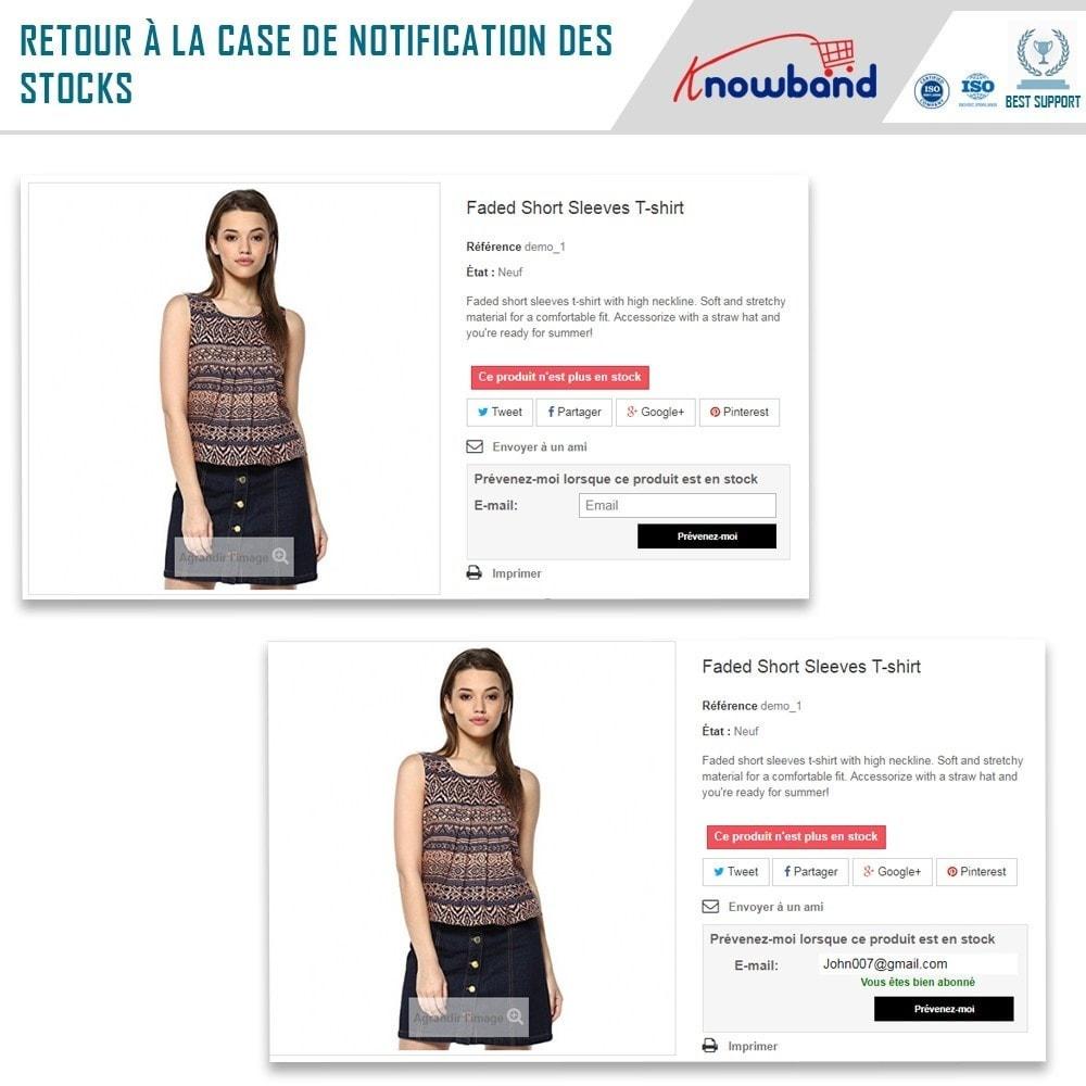 module - E-mails & Notifications - Knowband - Notification de Disponibilité - 2
