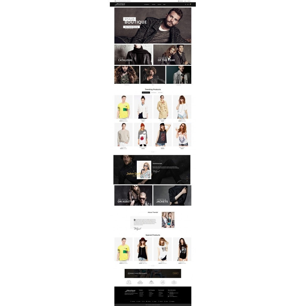 theme - Mode & Schuhe - Boutique Fashion Light - 2