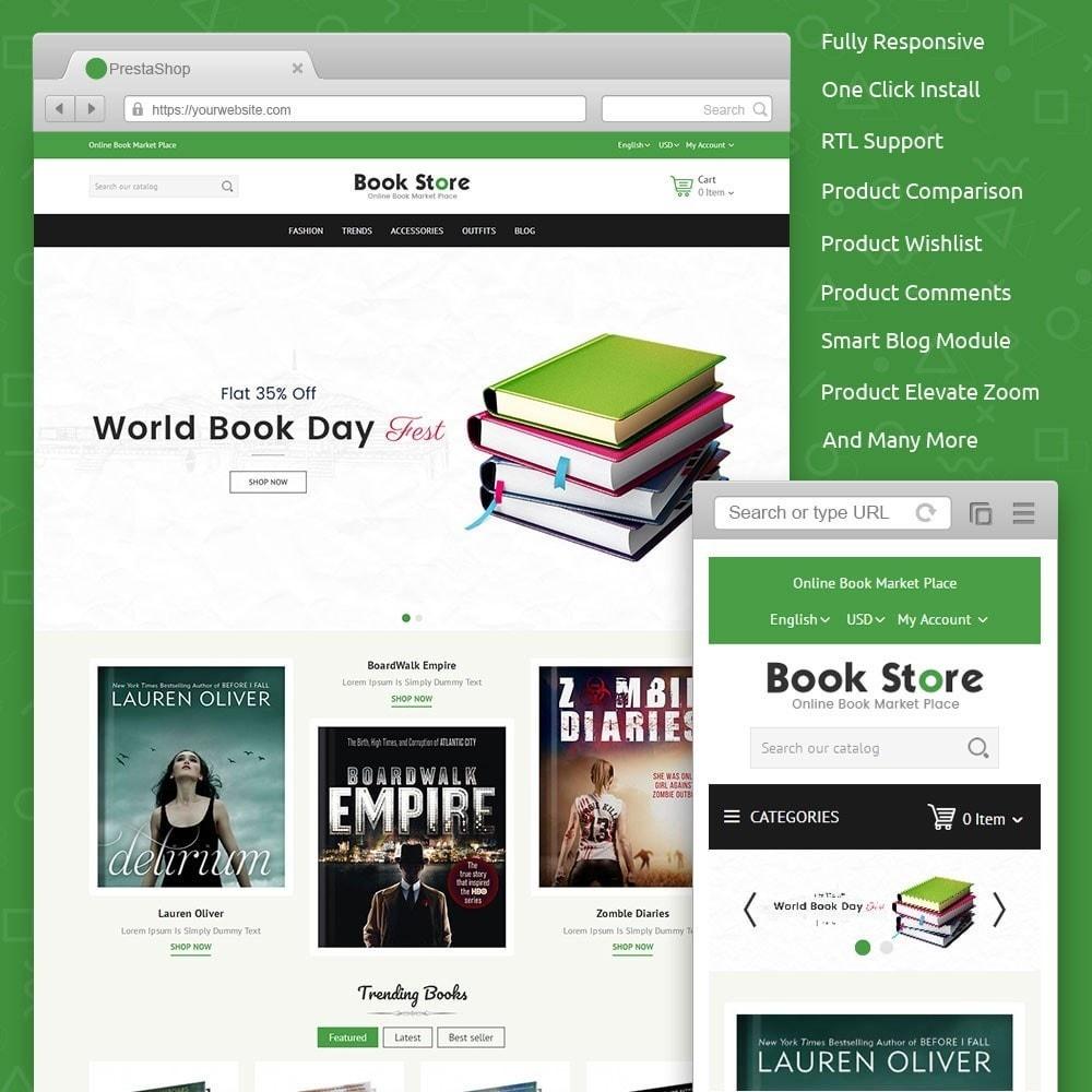 theme - Arte e Cultura - Book Store - 1