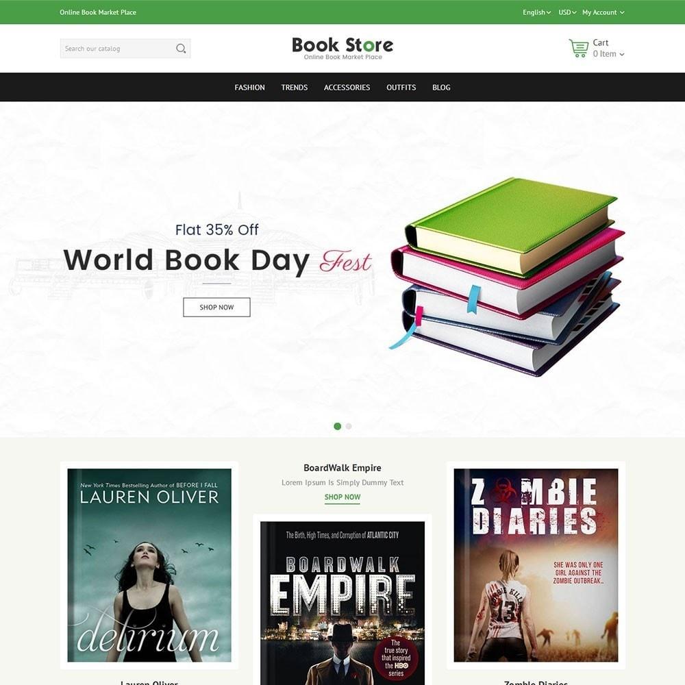 theme - Arte e Cultura - Book Store - 2