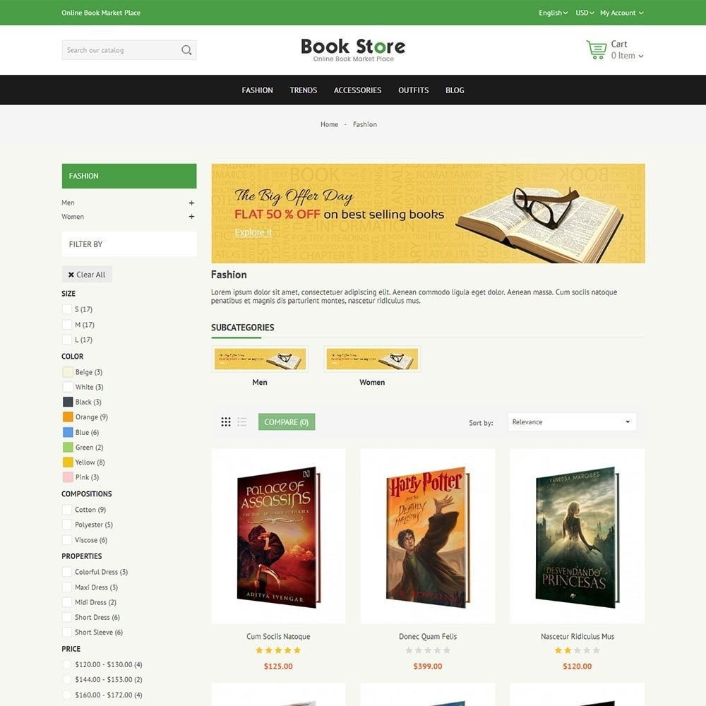 theme - Arte e Cultura - Book Store - 3