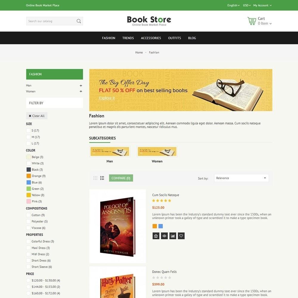theme - Arte e Cultura - Book Store - 4