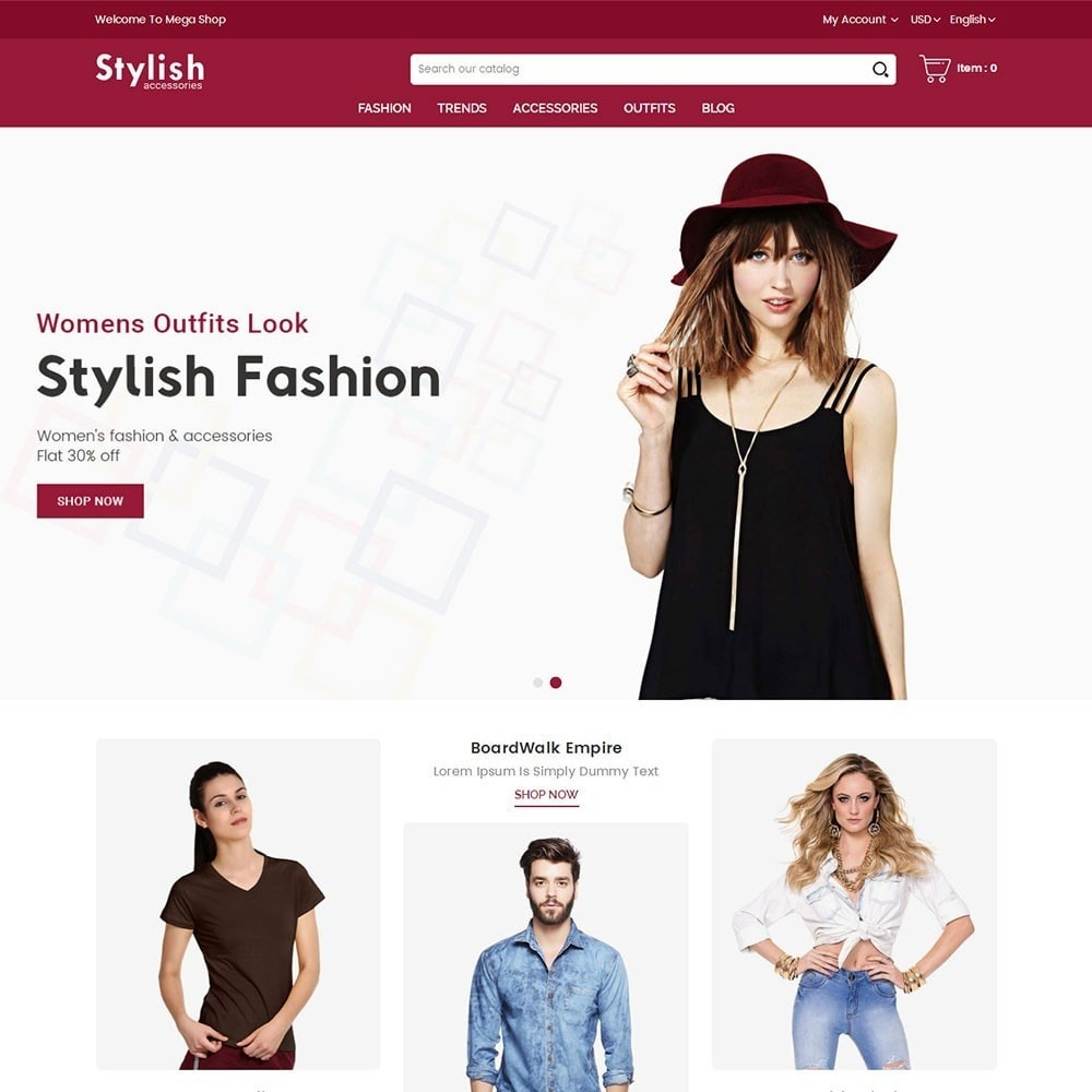 theme - Mode & Chaussures - Stylish Fashion Store - 2