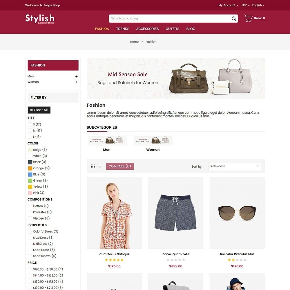 theme - Mode & Chaussures - Stylish Fashion Store - 3